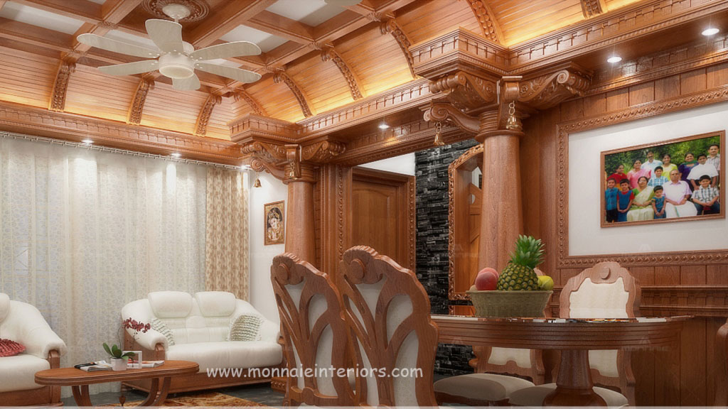 Kerala traditional interior design