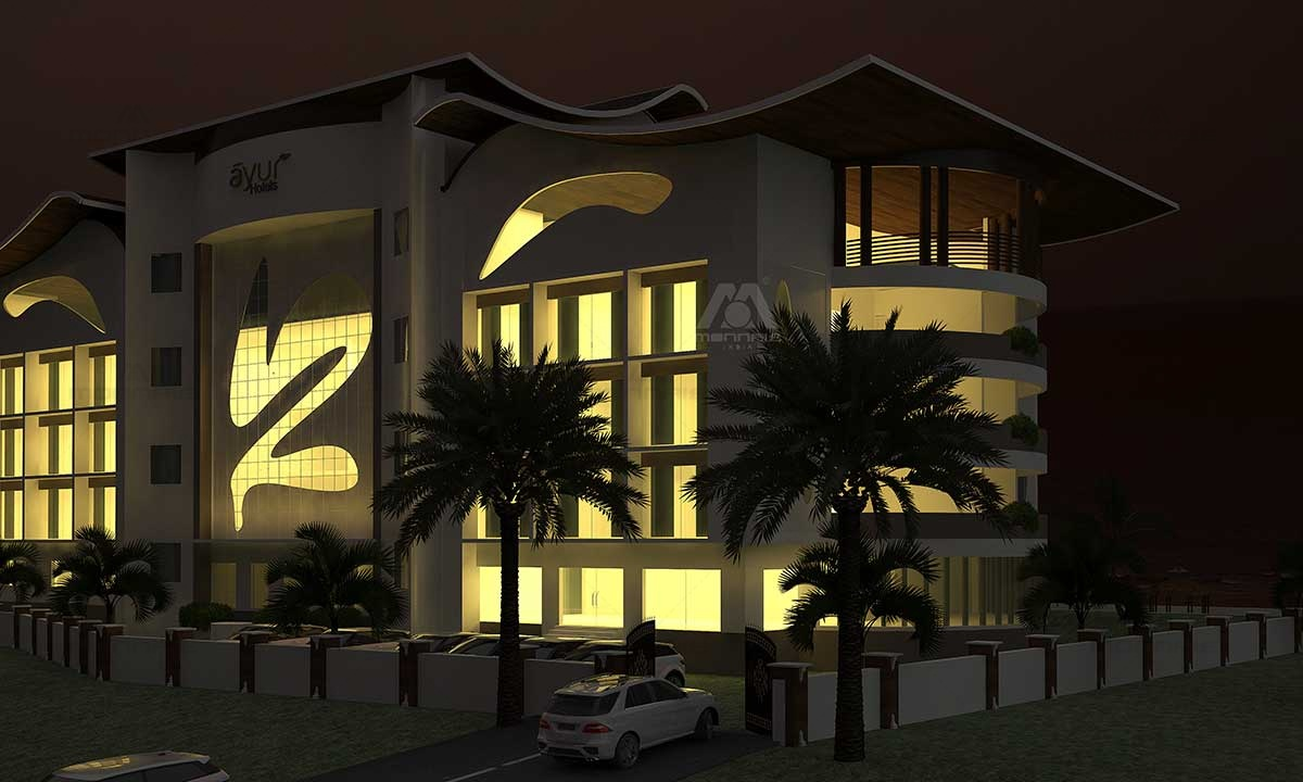 Commercial Building Design, Kerala