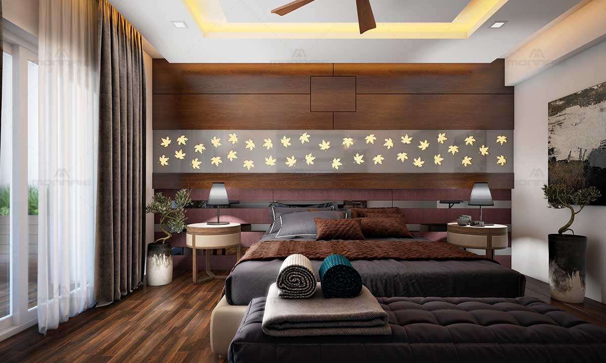 Contemporary Bedroom Interior Design Ideas - Top Architects In Kerala