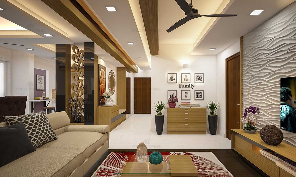 Contemporary Designs For Living Room & False Ceiling