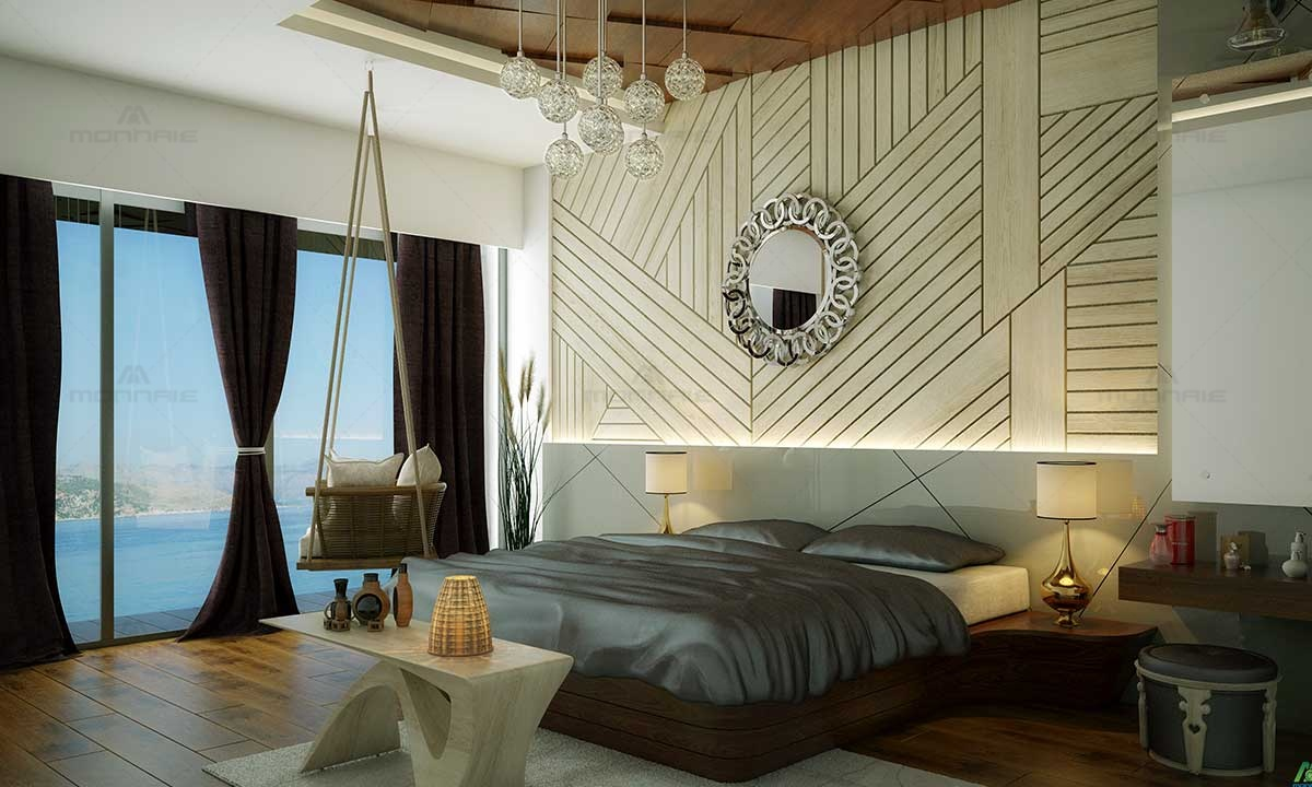Bedroom Furnitures, Mirror & Wall Design Ideas