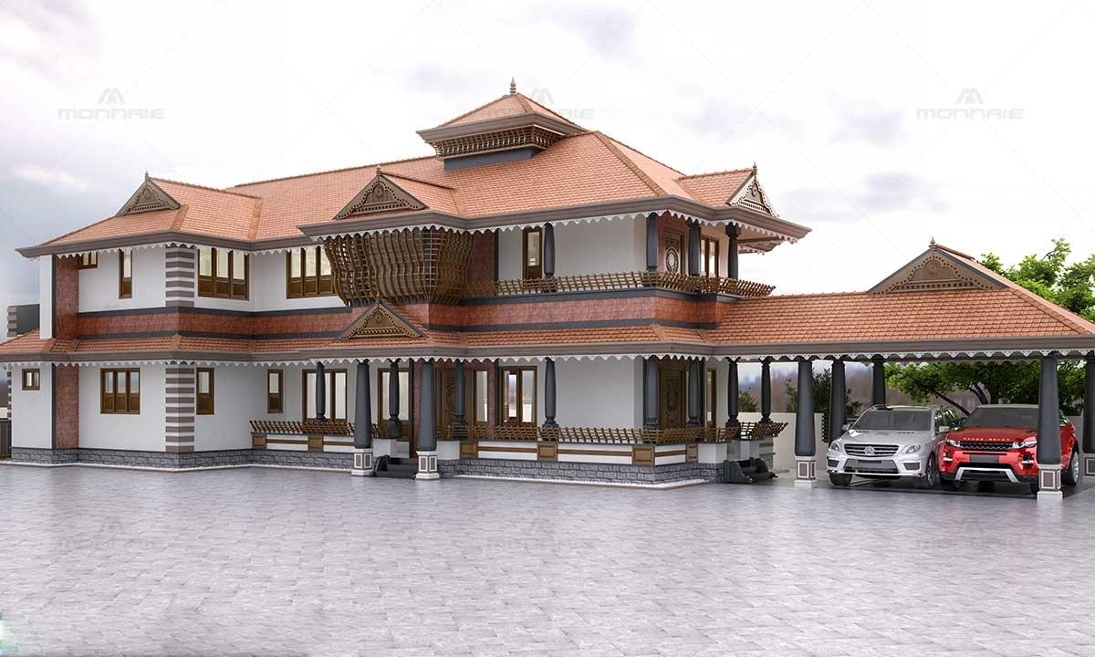 Kerala House Plans Image Calicut - Monnaie Architects & Interiors