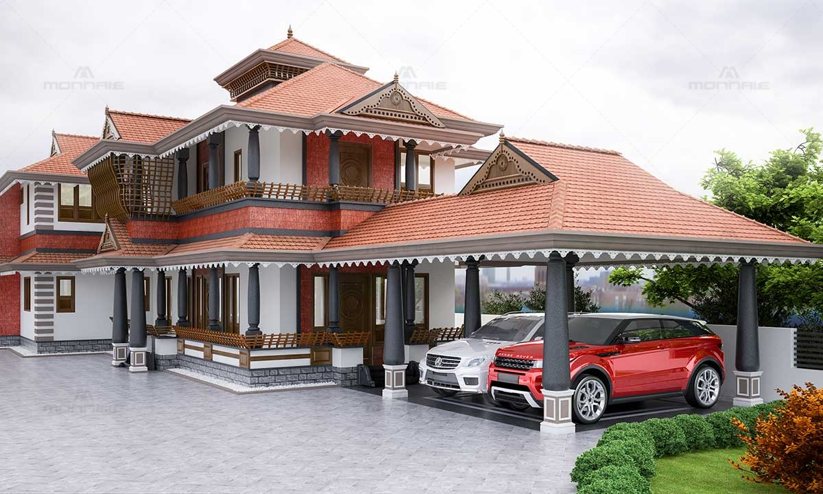 Kerala Traditional Architecture Home - Leading Architects in Kerala