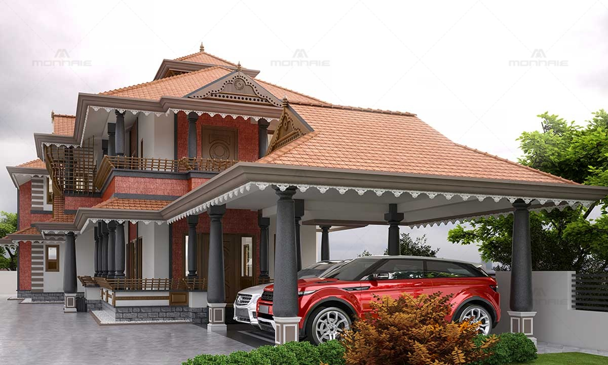 Kerala Traditional Home Design - Top Home Interiors in Kochi
