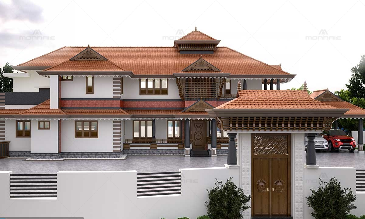 Traditional Kerala Style House Plans - Best Architects In Kerala