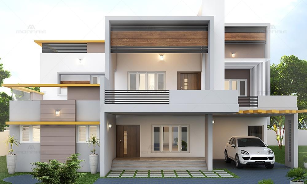 Modern Architecture Home, Vellore, Tamil Nadu