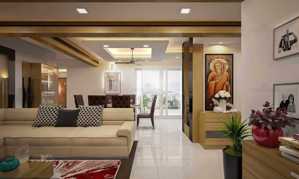Modern Interior Design Living Room Furnitures - Monnaie Architects