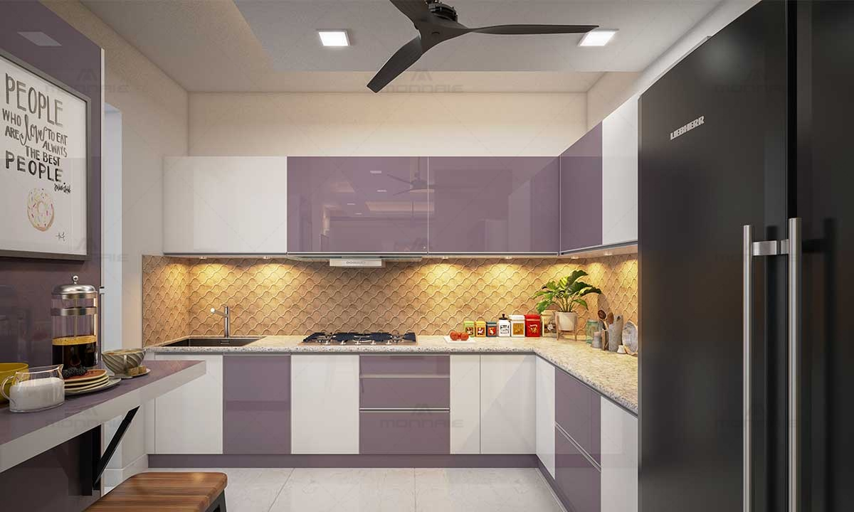 Modular Kitchen Design Color Ideas - Best Architects In Kochi