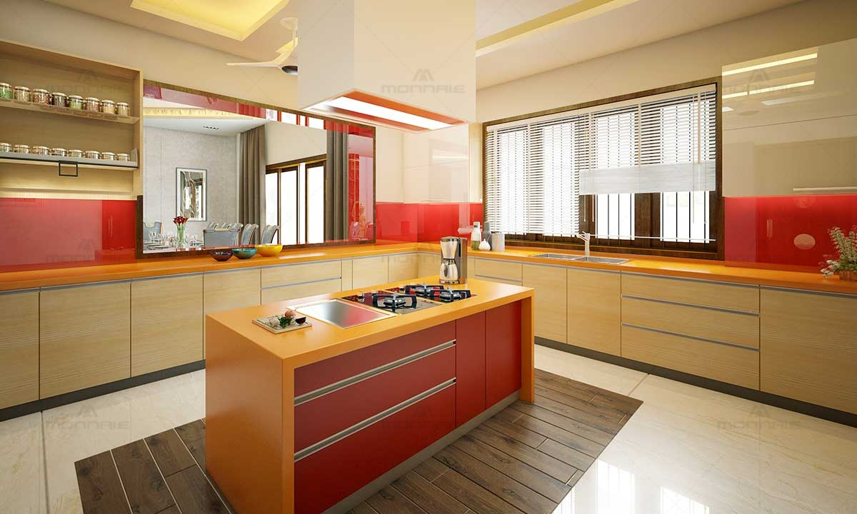 Simple & Beautiful Modular Kitchen Images