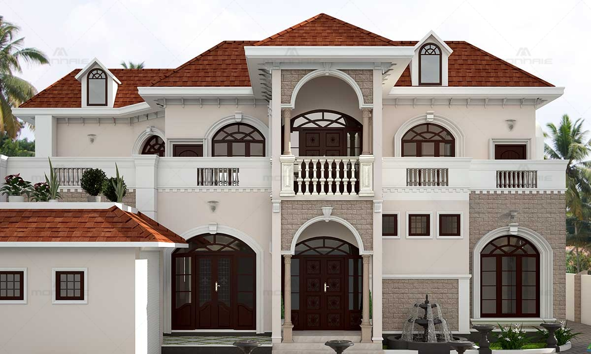 Victorian Style Home Design Ideas - Architects In Kerala