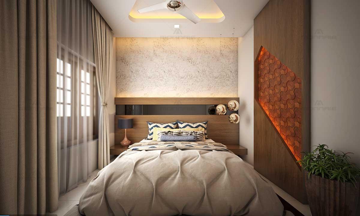 Bedroom King/Queen Set & Wall Design Ideas