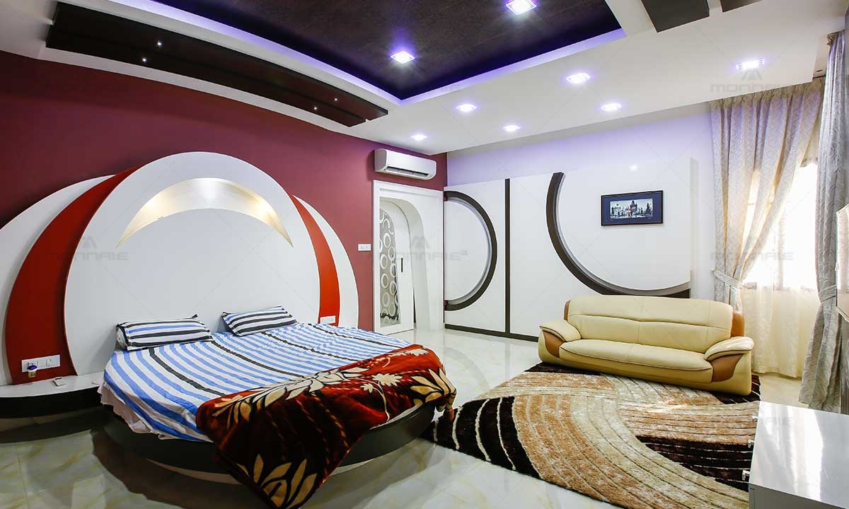 Best Bedroom Wall Decoration Ideas - Monnaie Architects & Interiors