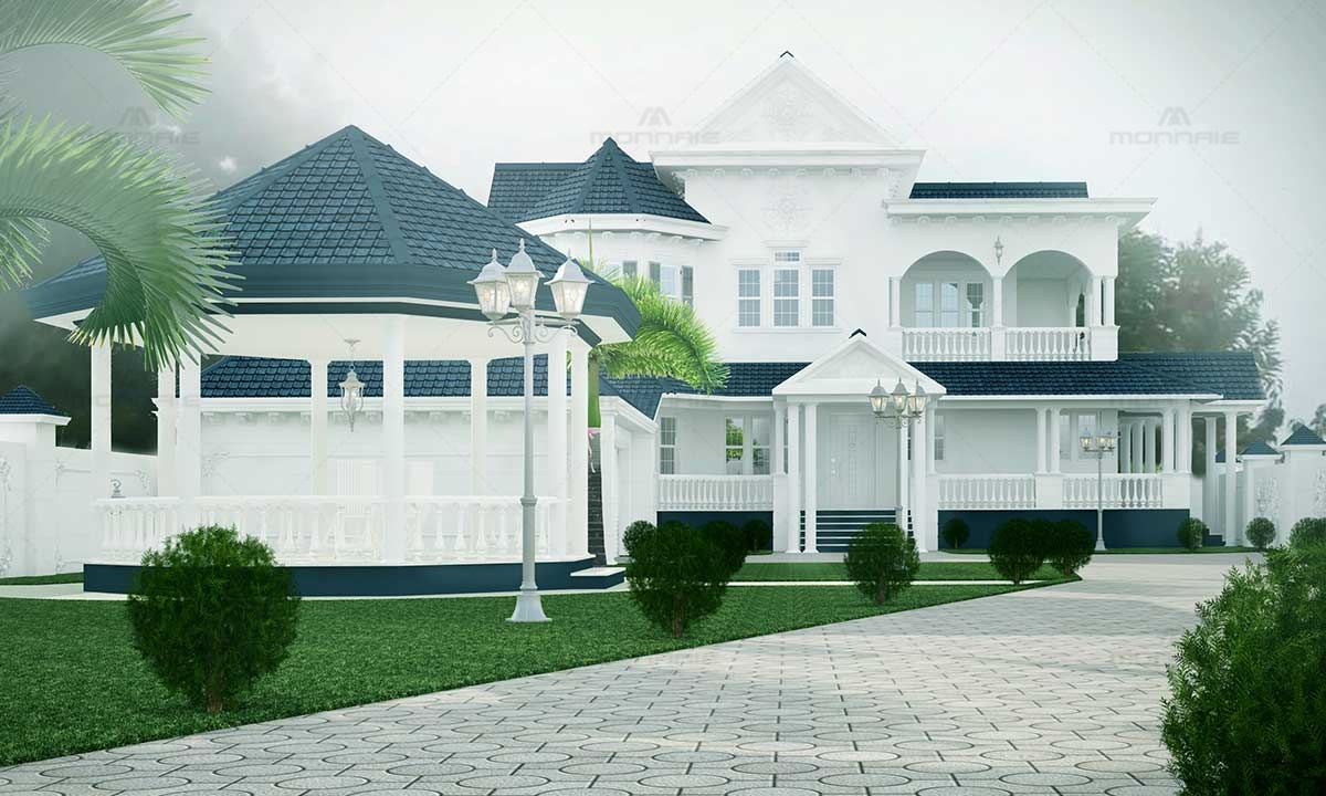 Best Colonial Design Architect Firms In Kerala