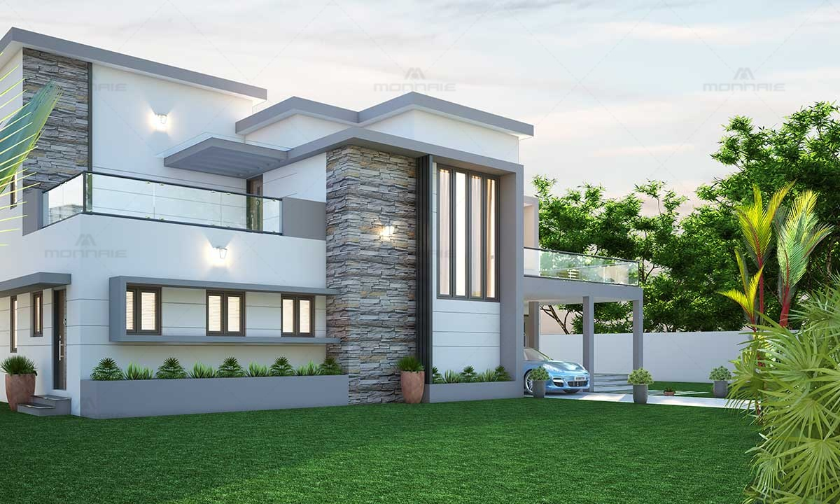 Best Contemporary Architecture Design Homes in kerala