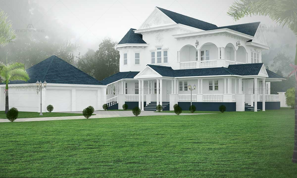 Colonial Design House Images
