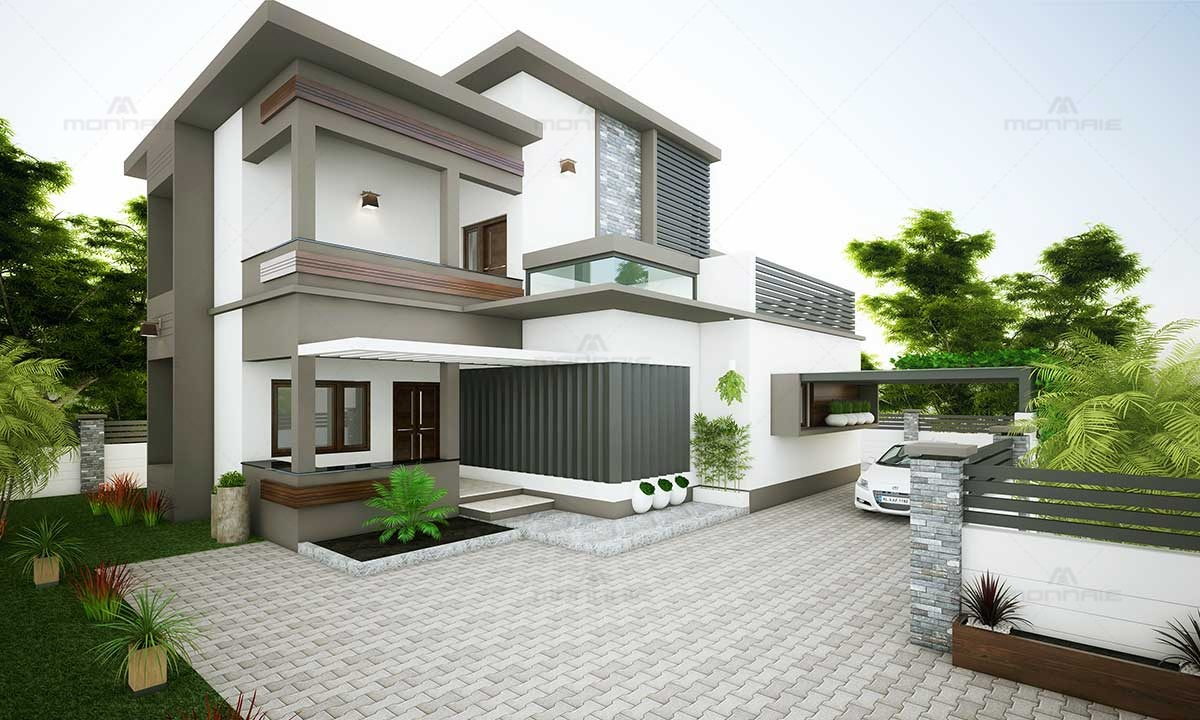 Contemporary Architecture Exterior Home Design Picture