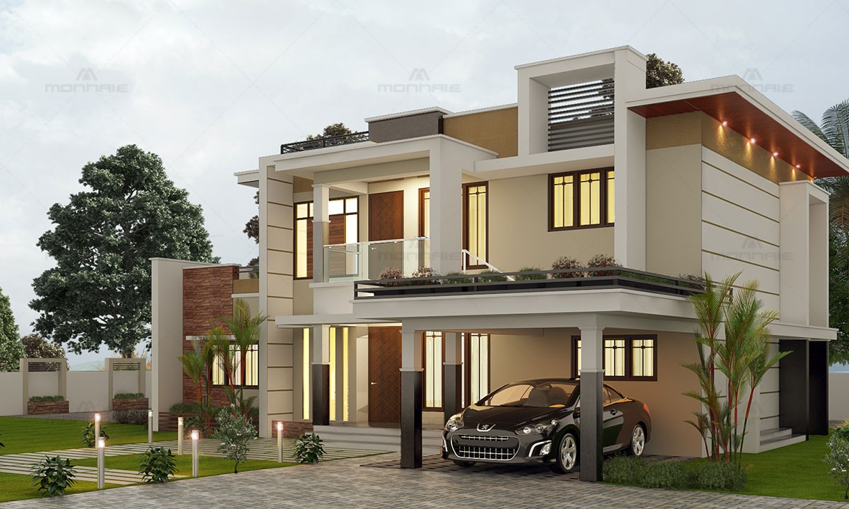 Contemporary Architecture House Plans Kerala