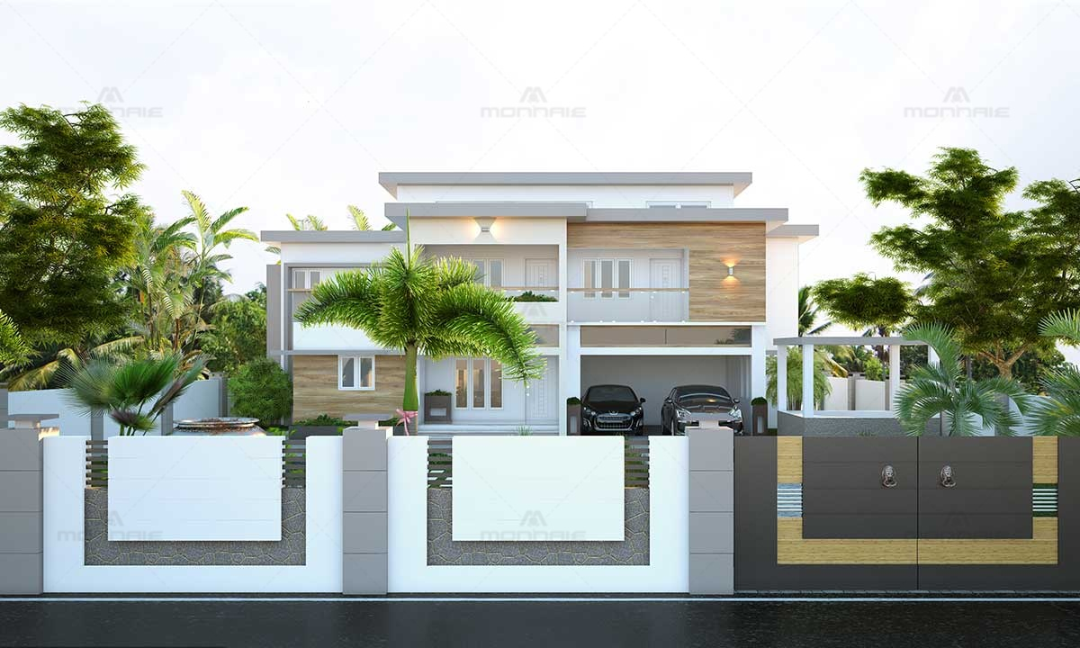 Contemporary Architecture Residential Design - Best Home Interiors in Kerala