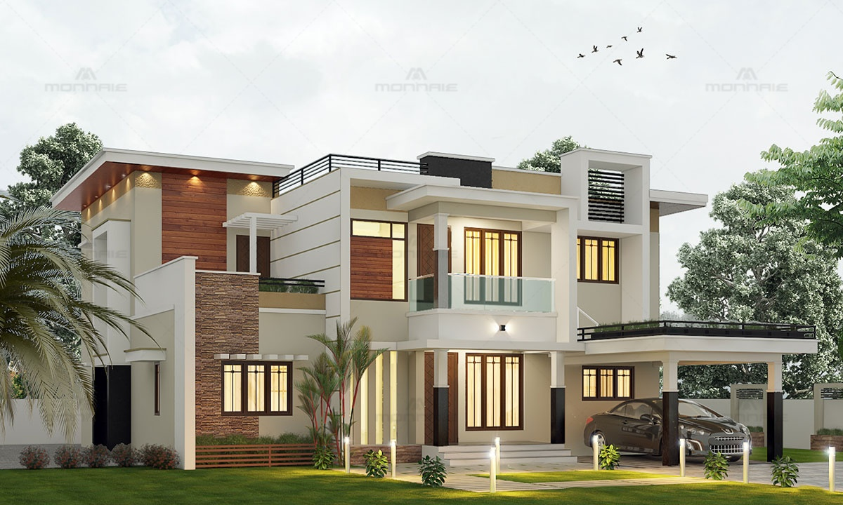 Contemporary Design House, Kerala, India