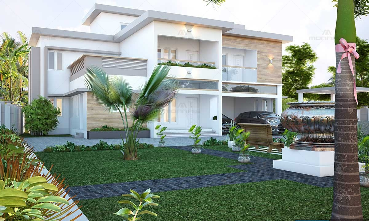 Contemporary House Plans - Top Home Interiors in Kerala