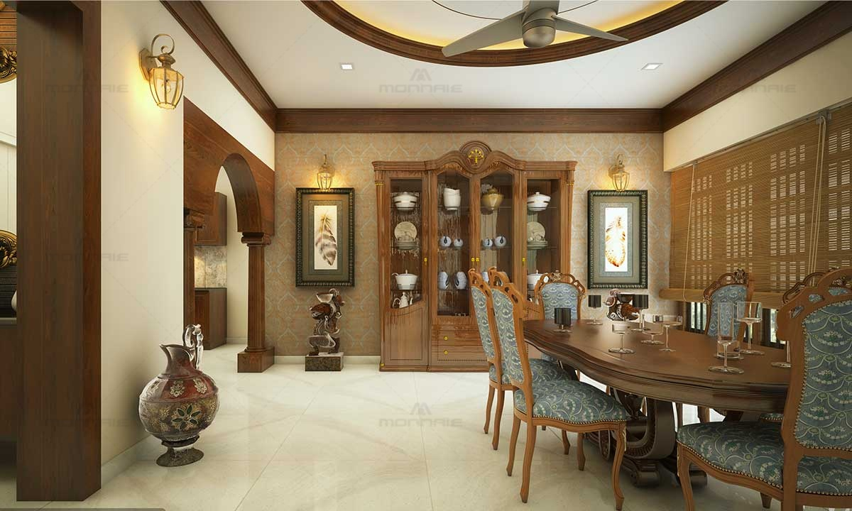 Kerala Style Dining Room Ideas - Best Home Designers In Kerala