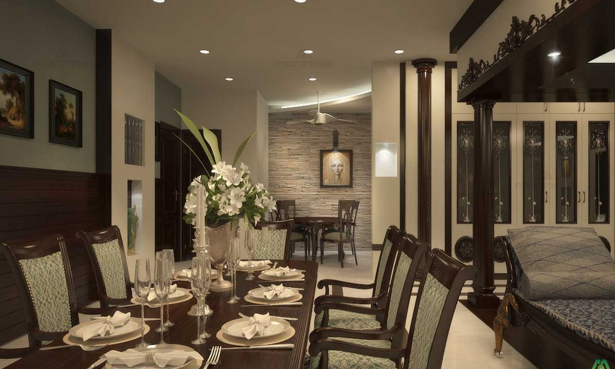 Luxury Dining Room Design & Furnitures - Architects In Kochi