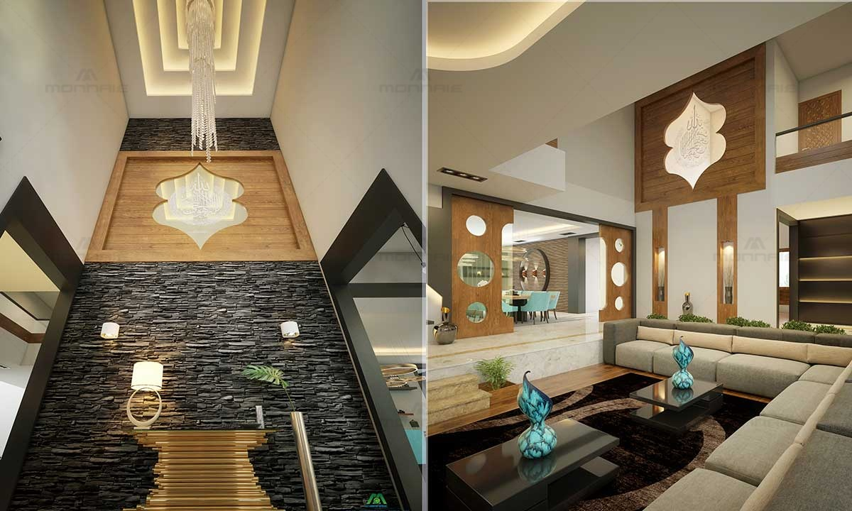 Luxury Living Room Furniture, Celling, Lights