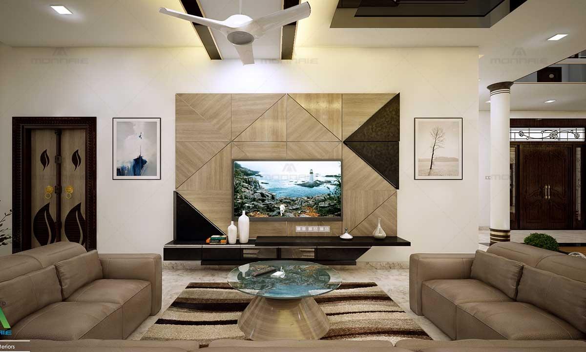 Luxury Living Room Interior Design & Furnitures - Top Interior designers in Kerala
