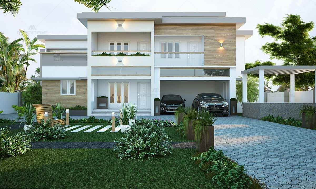 Modern Architecture Home Design Kerala - Best Architects In Kochi