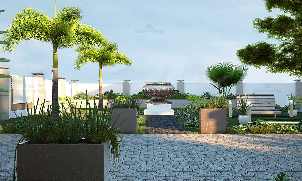 Simple Garden Ideas On A Budget - Architects In Kerala