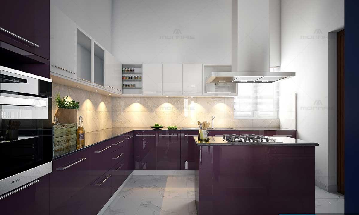 Top Modular Kitchen Designs - Monnaie Interiors