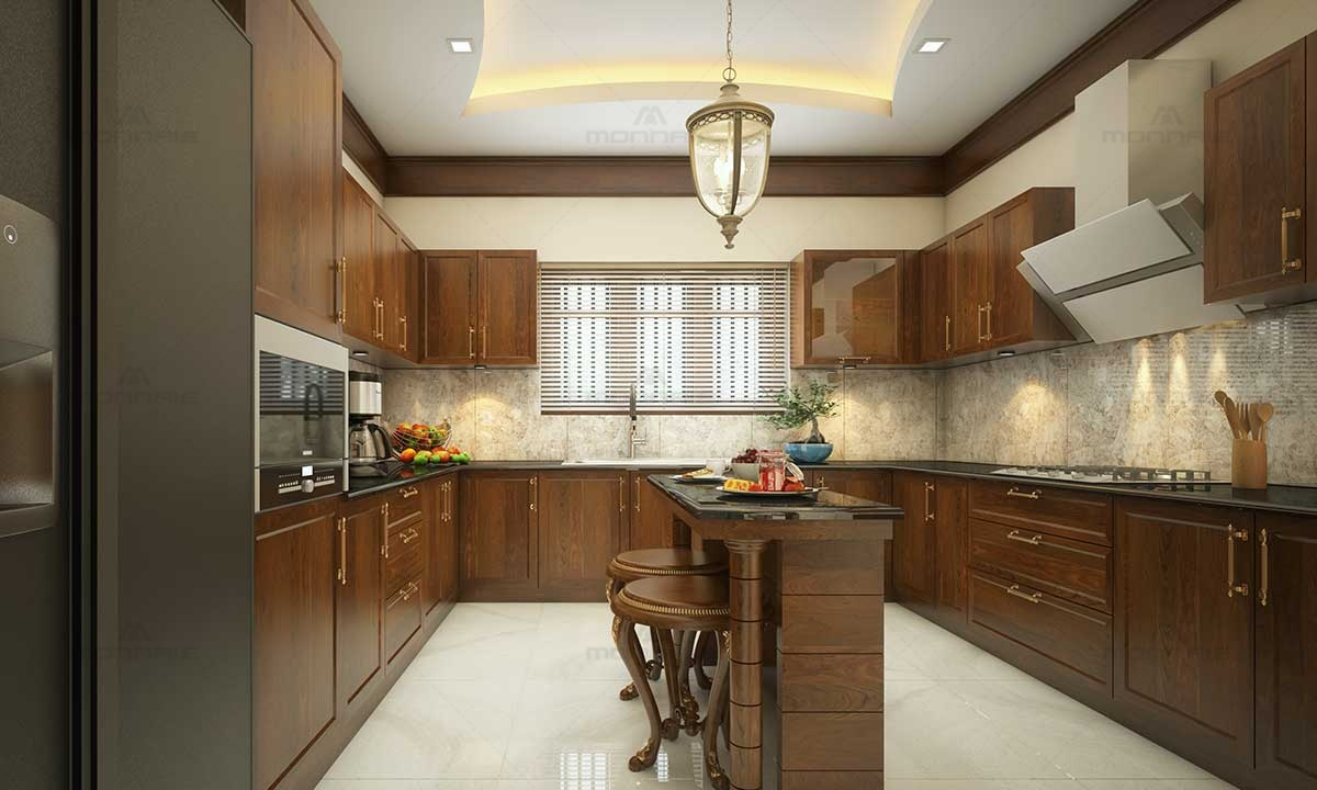 Traditional Kitchen Idea Image - Home Desi