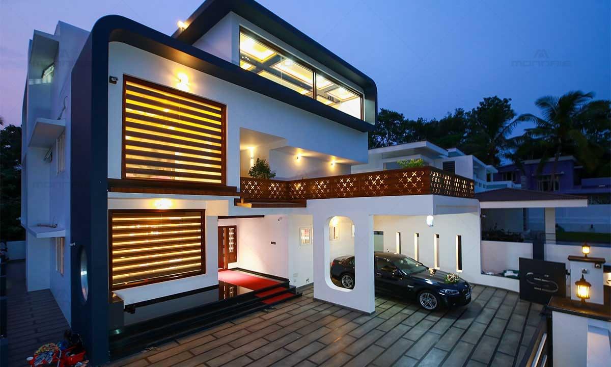 Ultra Modern House Design - Monnaie Architects & Interiors, Kerala