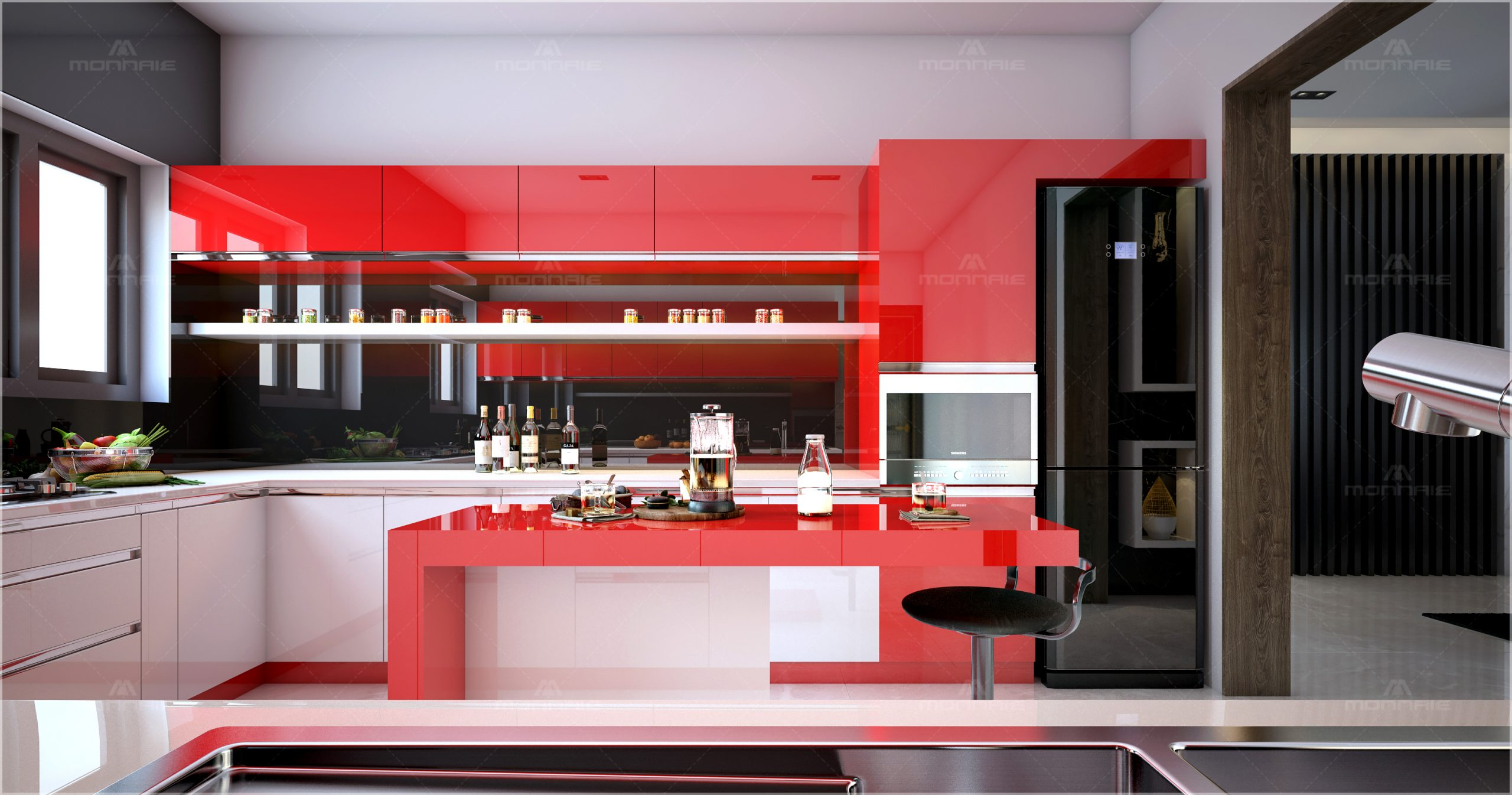 latest modular kitchen designs
