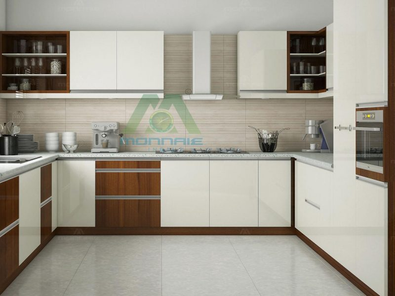 Customized Modular Kitchen Design Kerala | Monnaie Architects & Interiors