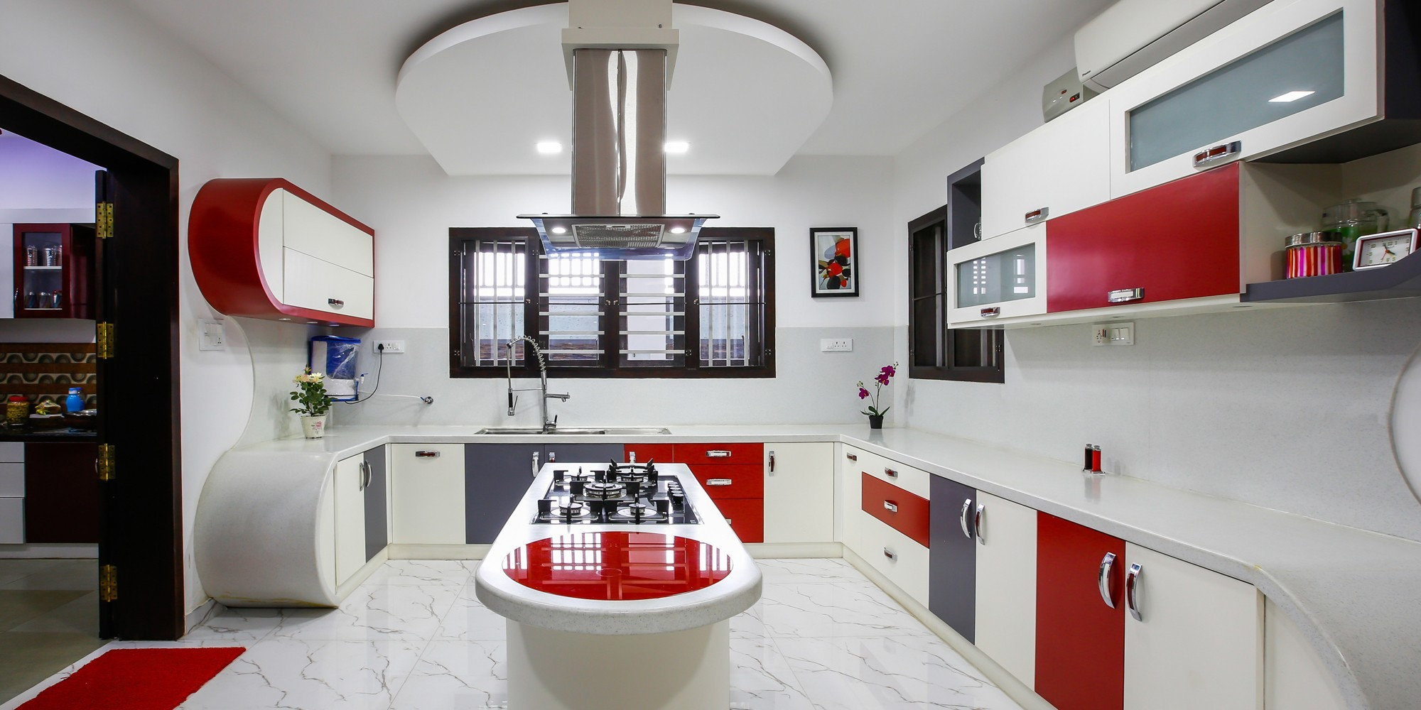 Latest Modular Kitchen Designs In Kerala Monnaie Interiors