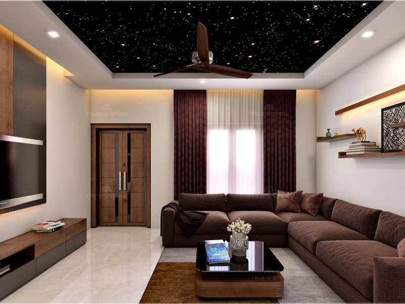 small living room designs in Kerala