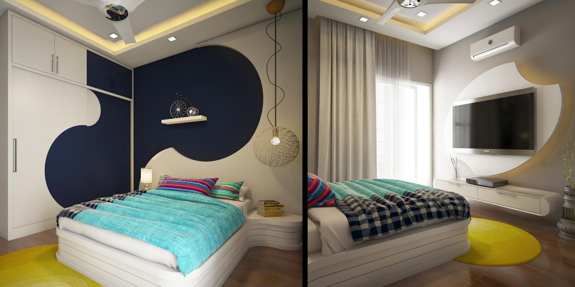 Geomatric Pattern home interior design