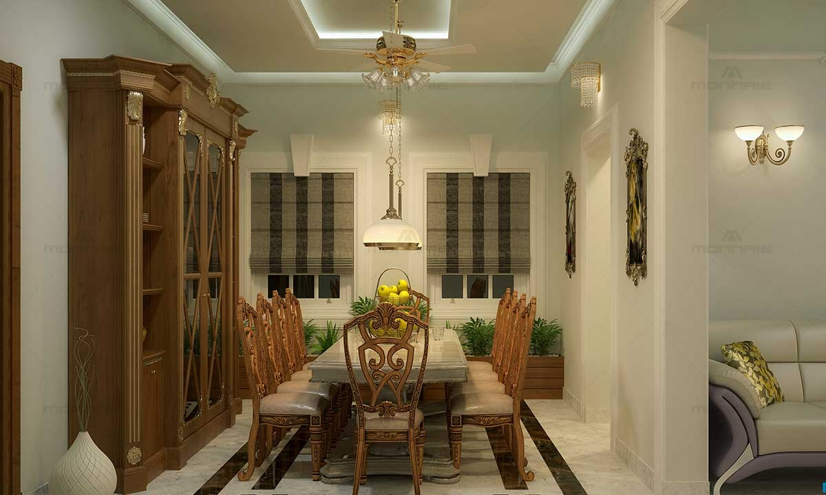 Arabic Style Lights & Furnitures For Dinning Room