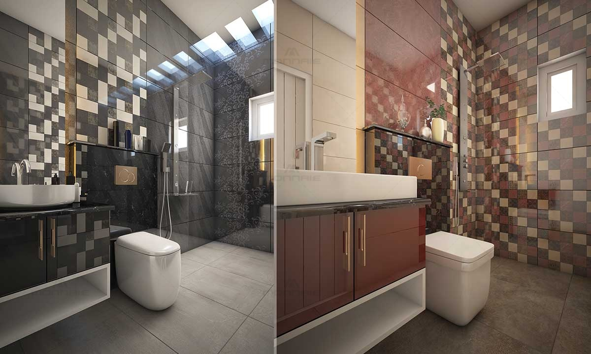 Bathroom Tile Ideas - Best Architects In Kochi