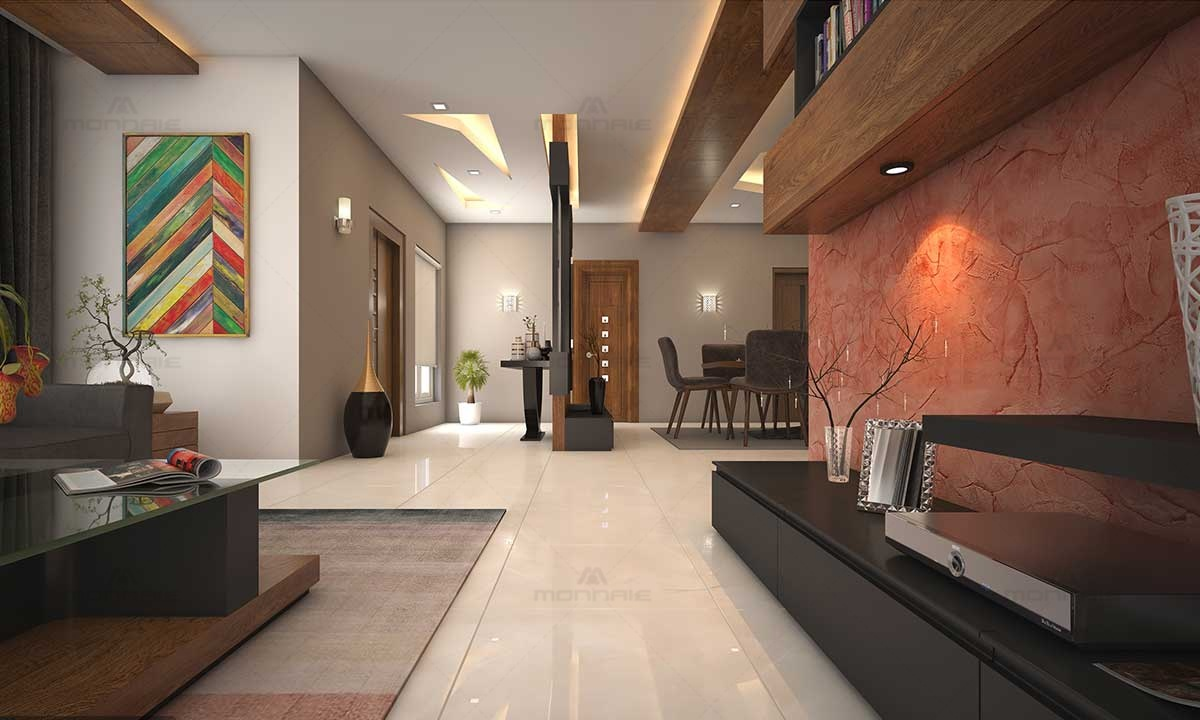 Contemporary Interior Design - Home Designers In Kochi, Kerala