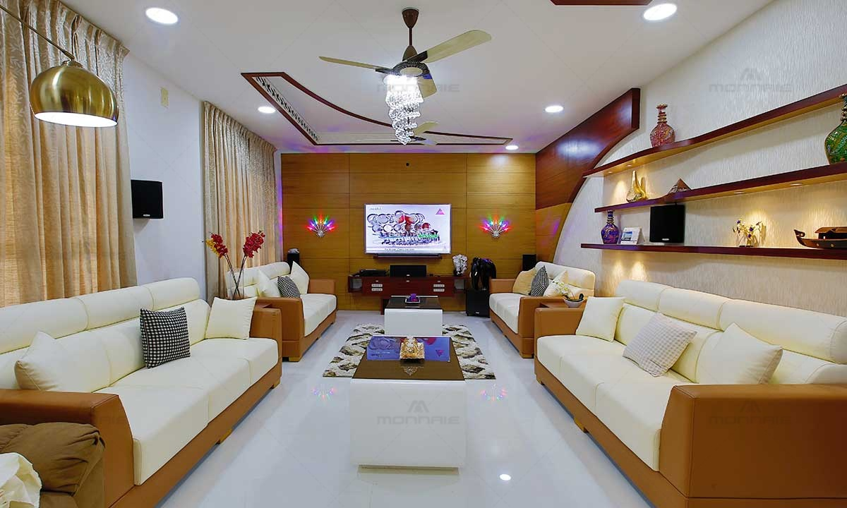 Contemporary interior living room designs