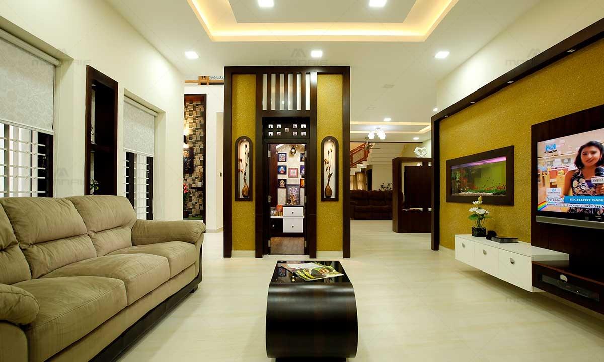 Contemporary Living Room Decorating Ideas - Monnaie Interiors