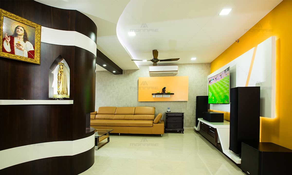 Contemporary Interior Designs - Best Architects In Ernakulam