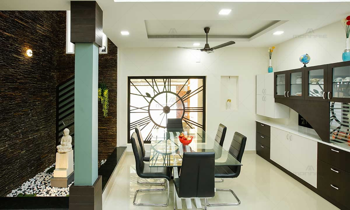 Dining Room Sets & Wall Interiors - Best Architects In Kochi