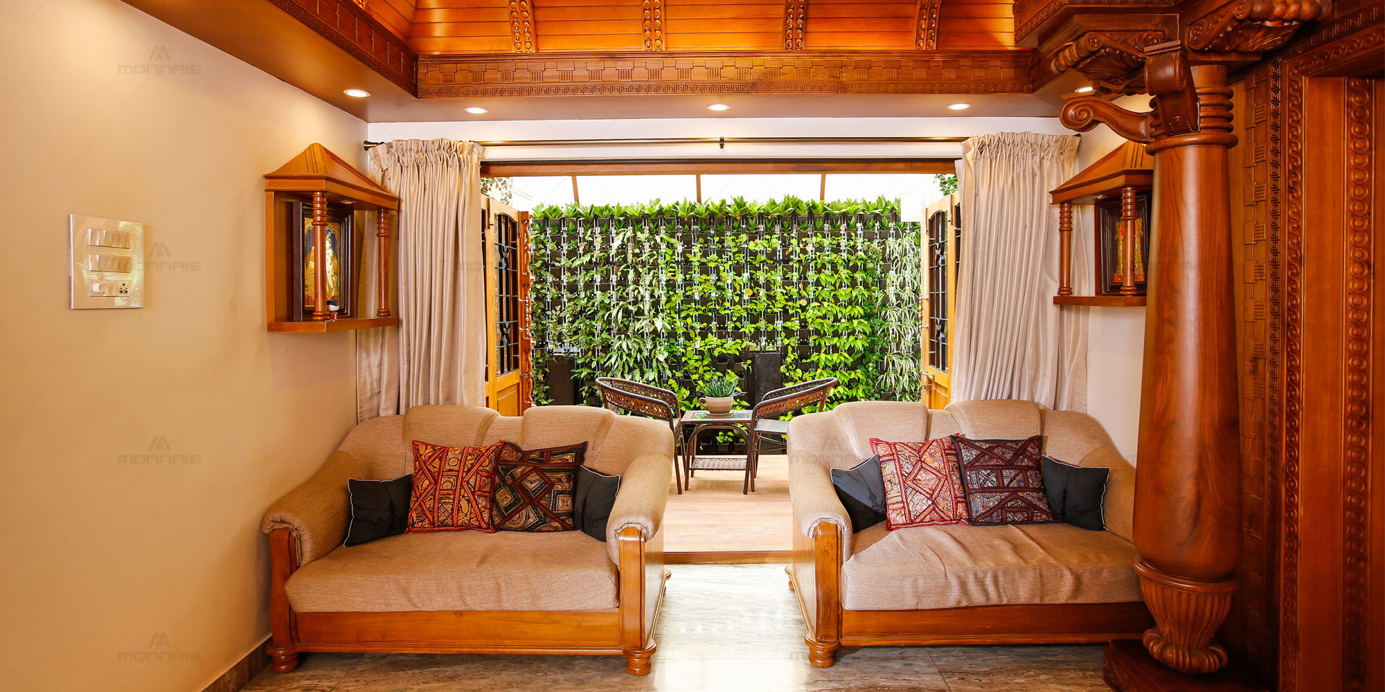 eco friendly interior design in Kerala - Monnaie architects & Interiors