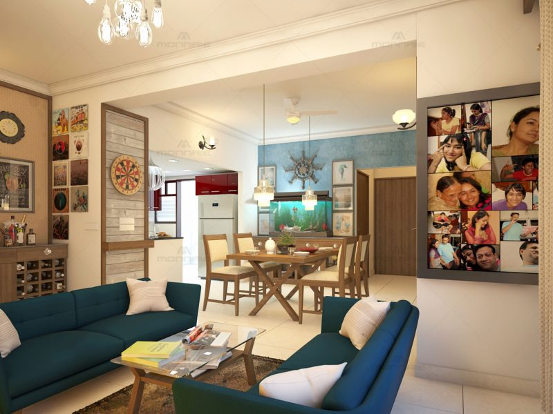 French interior design - Top home interiors in Kerala