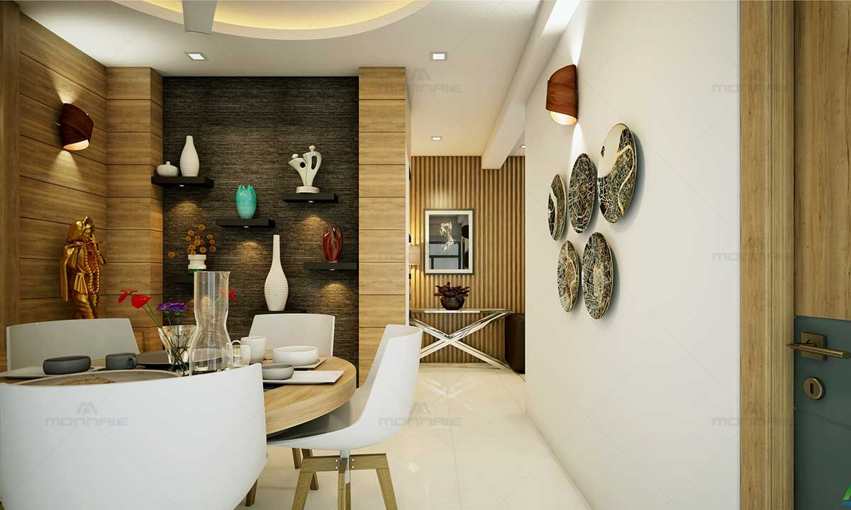 Home Interior Design & Modern Wall Decor Ideas - Monnaie Architects & Interiors
