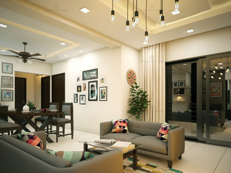 kerala home interior designers - Monnaie architects and interiors