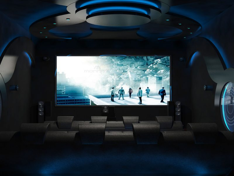 home theater design - best home designers in kochi